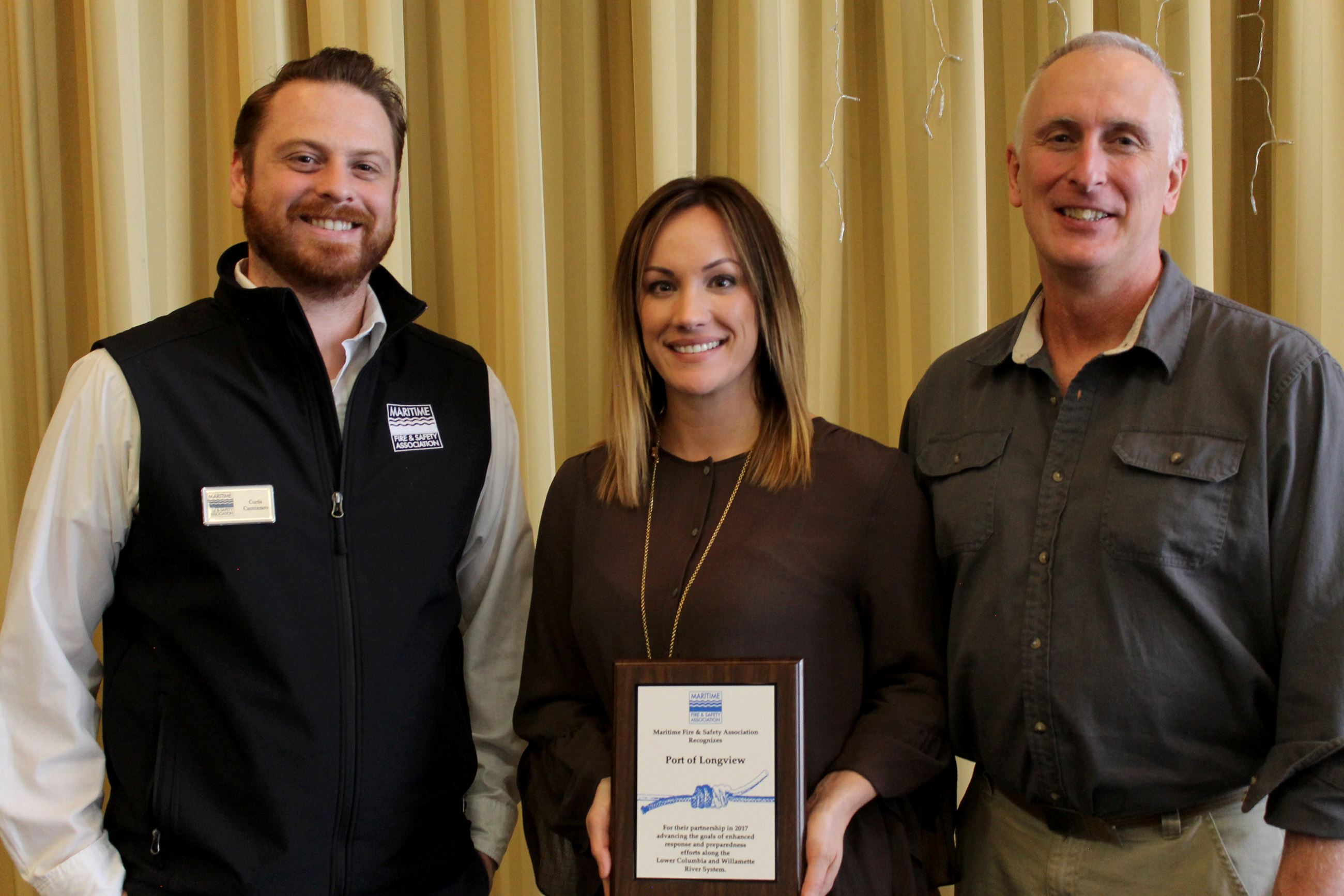 Port receives Maritime Award