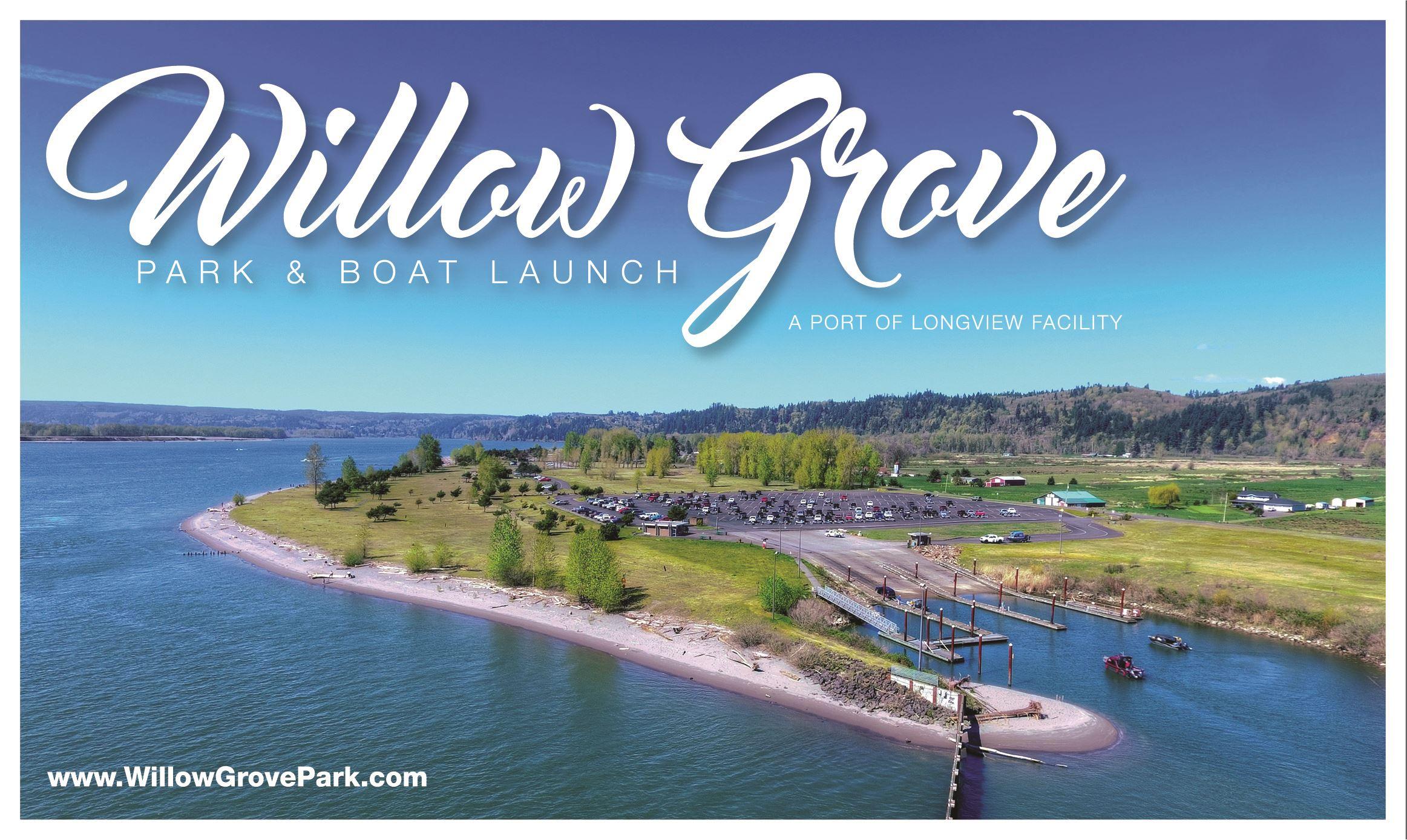 a1086adb5f91b Willow Grove Park & Boat Launch | Port of Longview, WA